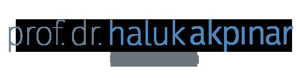 Prof. Dr. Haluk Akpınar